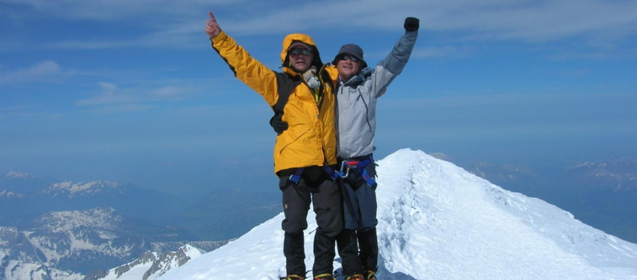 9 Mont Blanc programma's van Namaste Mountainguides